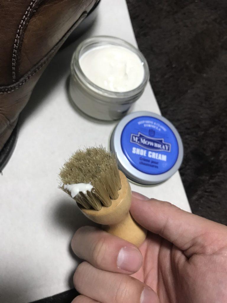 革靴 ペネトレィトブラシ